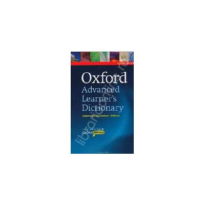 Oxford Advanced Learners Dictionary, 8th Edition International Students Edition with CD-ROM and Oxford iWriter (only available in certain markets)