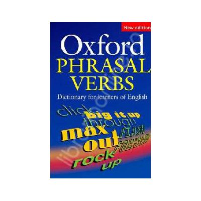 Oxford Phrasal Verbs Dictionary for learners of English