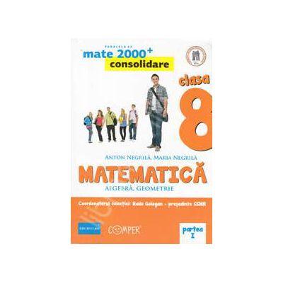 Mate 2000 pentru clasa a VIII-a. Partea I, CONSOLIDARE. Matematica - Algebra, geometrie. Editia a II-a revizuita