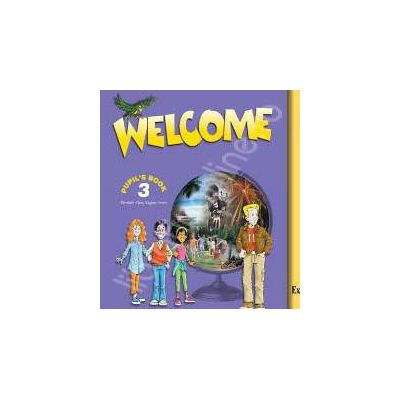 WELCOME 3 CLASS CD