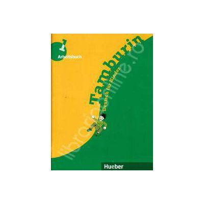 Limba germana caietul elevului, clasa a III-a. Tamburin 1, Arbeitsbuch