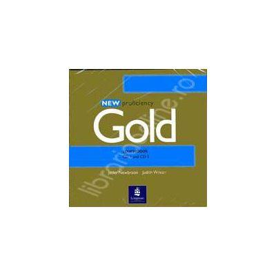 New Proficiency Gold. Coursebook Class CD 1-2