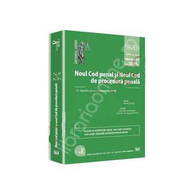 Noul Cod penal si Noul Cod de procedura penala. In vigoare de la 1 februarie 2014 - Actualizat 09 septembrie 2013