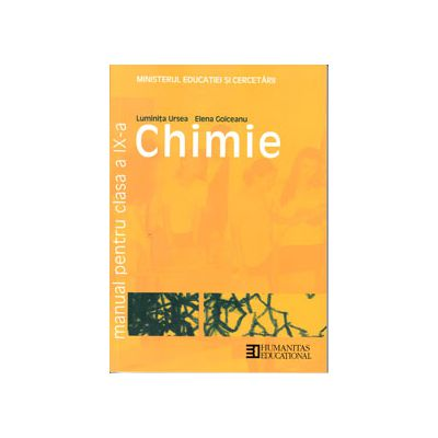 Chimie manual pentru clasa a IX-a (Luminita Ursea)
