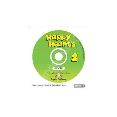 Curs pentru limba engleza Happy Hearts 2 DVD