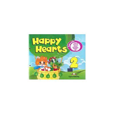 Curs pentru limba engleza Happy Hearts 2 Pupils Pack