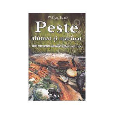Peste afumat si marinat, specii recomandate, dispozitive pentru afumat, retete