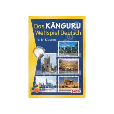 Cangurul Lingvist, sectiunea germana. Das Kanguru - Wettspiel Deutsch III-IV Klassen