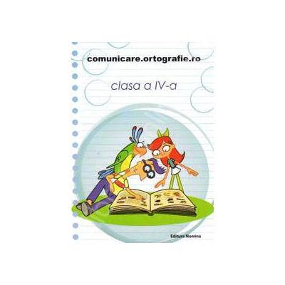 Concursul. Comunicare. Ortografie. ro 2013-2014, pentru clasa a IV-a