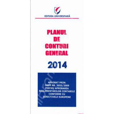 Planul de conturi general 2014 (Aprobat prin OMFP Nr. 3055/2009)