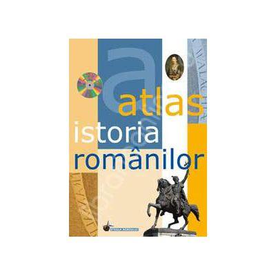 Atlas istoria romanilor. Contine CD (Editie Cartonata)