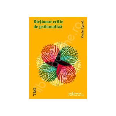 Dictionar critic al psihanalizei