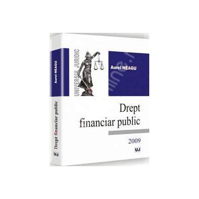 Drept financiar public - 2009