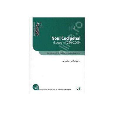 Noul Cod penal Ad litteram. Actualizat 24 septembrie 2012