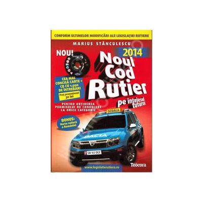 Noul cod rutier 2014, cu CD (Auto B+, V3). Carte si CD, cu 1500 de intrebari