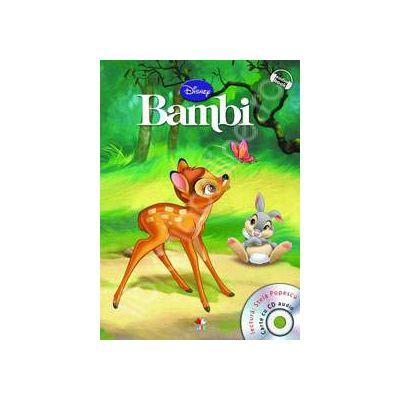 Bambi - Disney Audiobook (Carte + CD)