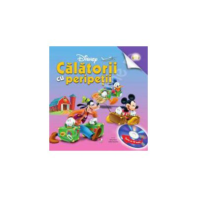 Calatorii cu peripetii (Audiobook). Colectia Disney Audiobook Lets Go!