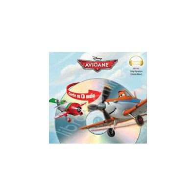 Avioane/Planes Audiobook colectia Disney Audiobook (Format mic)