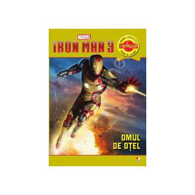 Iron Man 3. Omul de otel. Jocuri, activitati, superposter si pagini de colorat