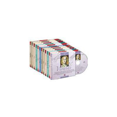 Mari compozitori. Carte + cd - 12 volume