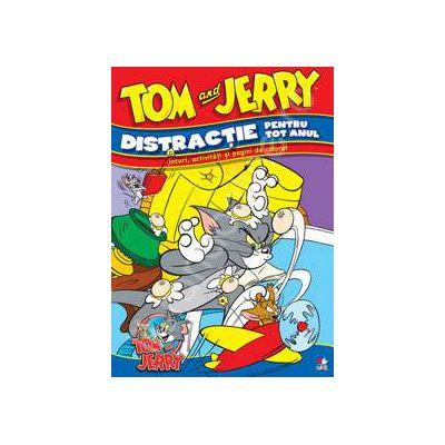 Tom si Jerry. Distractie pentru tot anul. Jocuri, activitati si pagini de colorat