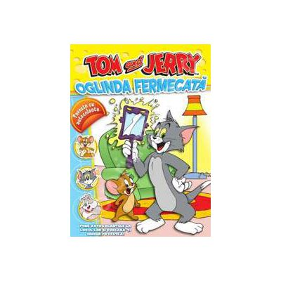 Tom si Jerry. Oglinda fermecata Poveste cu autocolante