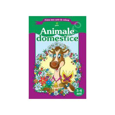 Prima mea carte de colorat. Animale domestice