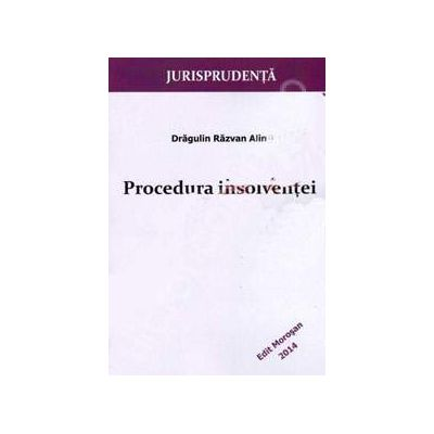Procedura insolventei (Jurisprudenta)
