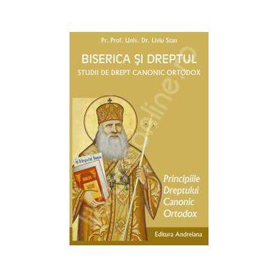 Biserica si dreptul. Studii de drept canonic ortodox. Principiile dreptului canonic. Volumul 3