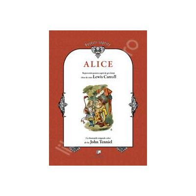 Alice repovestita pentru copii de gradinita (Contine CD)