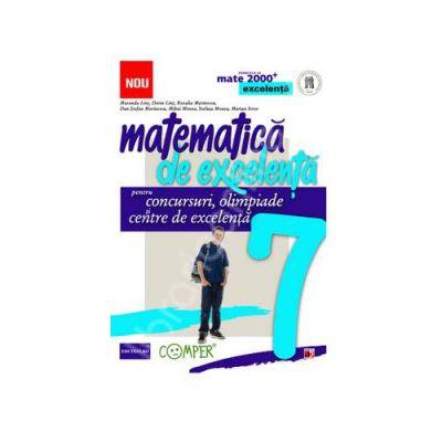 Matematica de excelenta (Mate 2000). Pentru concursuri, olimpiade si centre de excelenta clasa a VII-a