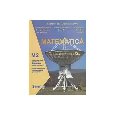 Matematica. Manual - profil M2, pentru clasa a XI-a (Streinu-Cercel G.)