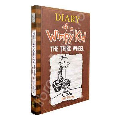 Jurnalul unul pusti, Volumul 7 - In limba engleza. DIARY OF A WIMPY KID: THE THIRD WHEEL (Book 7)