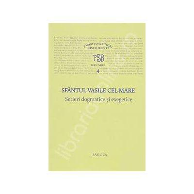 Sfantul Vasile cel Mare - Scrieri dogmatice si exegetice - PSB 4