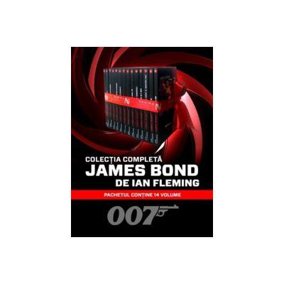 Colectia completa JAMES BOND. Pachetul contine 14 volume