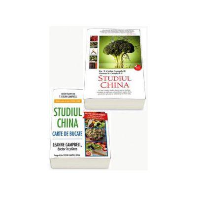 Cel mai complet pachet de NUTRITIE. Studiul China si Ghidul practic