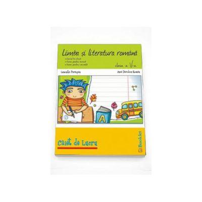 Limba si literatura romana. Caiet de lucru pentru clasa a 5-a