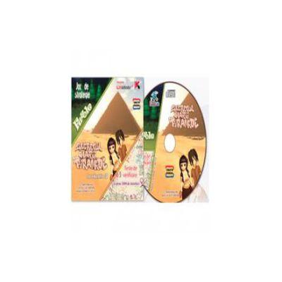 CD cu soft educational, pentru clasa a IV-a. Secretul marii piramide (Teste de verificare cu peste 2000 de intrebari)