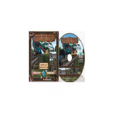 CD cu soft educational, pentru clasele a III-a si a IV-a. Roti de fier (Super joc educativ 3D)