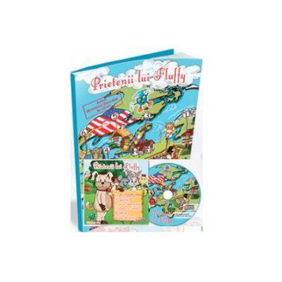 EDU Prietenii lui Fluffy, pentru Grupa mijlocie si Grupa mare (Contine CD cu soft educational)
