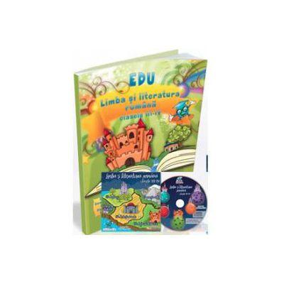 Limba si literatura romana, pentru clasele a III-a si a IV-a (Contine CD cu soft educational)