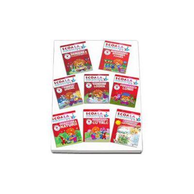 Pachet Scoala celor 7 pitici, 6 - 7 ani (8 carti)