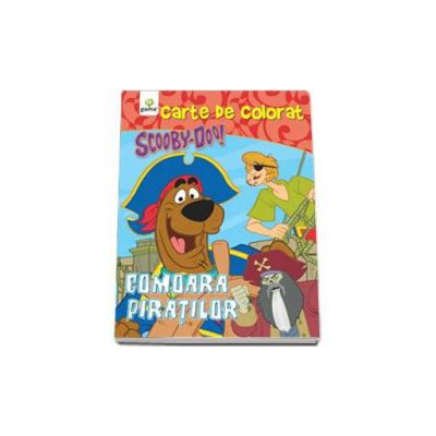 Scooby-Doo. Comoara piratilor (carte de colorat)