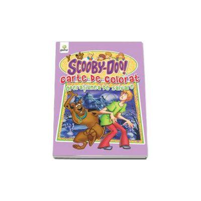 Scooby-Doo. Operatiunea de salvare (carte de colorat)