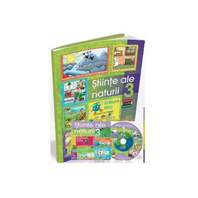 Stiinte ale naturii pentru, clasa a III-a (Contine CD cu soft educational)