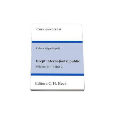 Drept international public. Volumul II. (Editia 2)