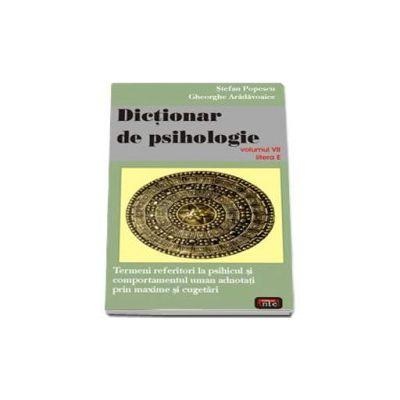Stefan Popescu, Dictionar de psihologie - volumul 7