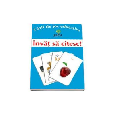 Invat sa citesc (Carti de joc educative)