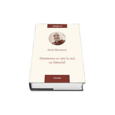 Emil Brumaru - Opere IV. Dumnezeu se uita la noi cu binoclul - Prefata de Ioana Parvulescu