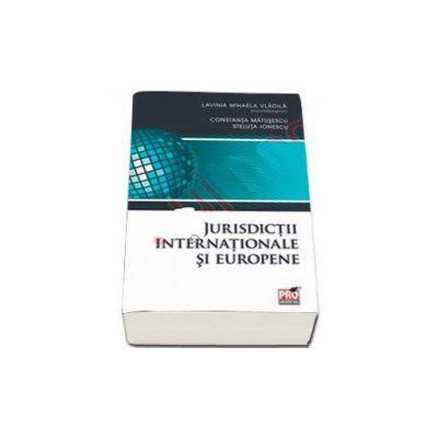 Jurisdictii internationale si europene